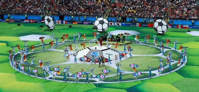 Dünya Kupası görkemli başladı
