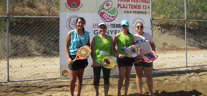Pekur Beach Tennis Tour GTK tamamlandı galerisi resim 1
