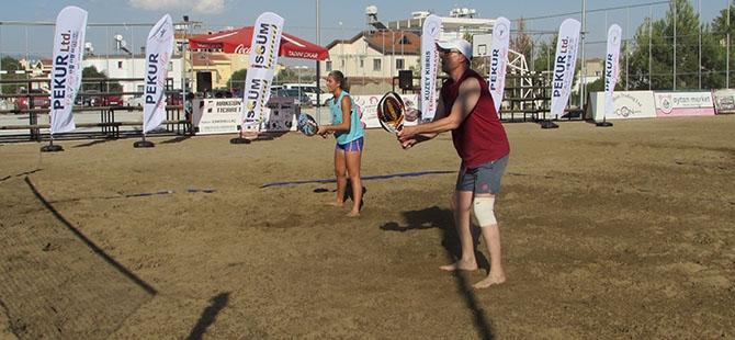Pekur Beach Tennis Tour GTK tamamlandı galerisi resim 3