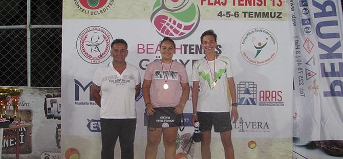 Pekur Beach Tennis Tour GTK tamamlandı galerisi resim 5