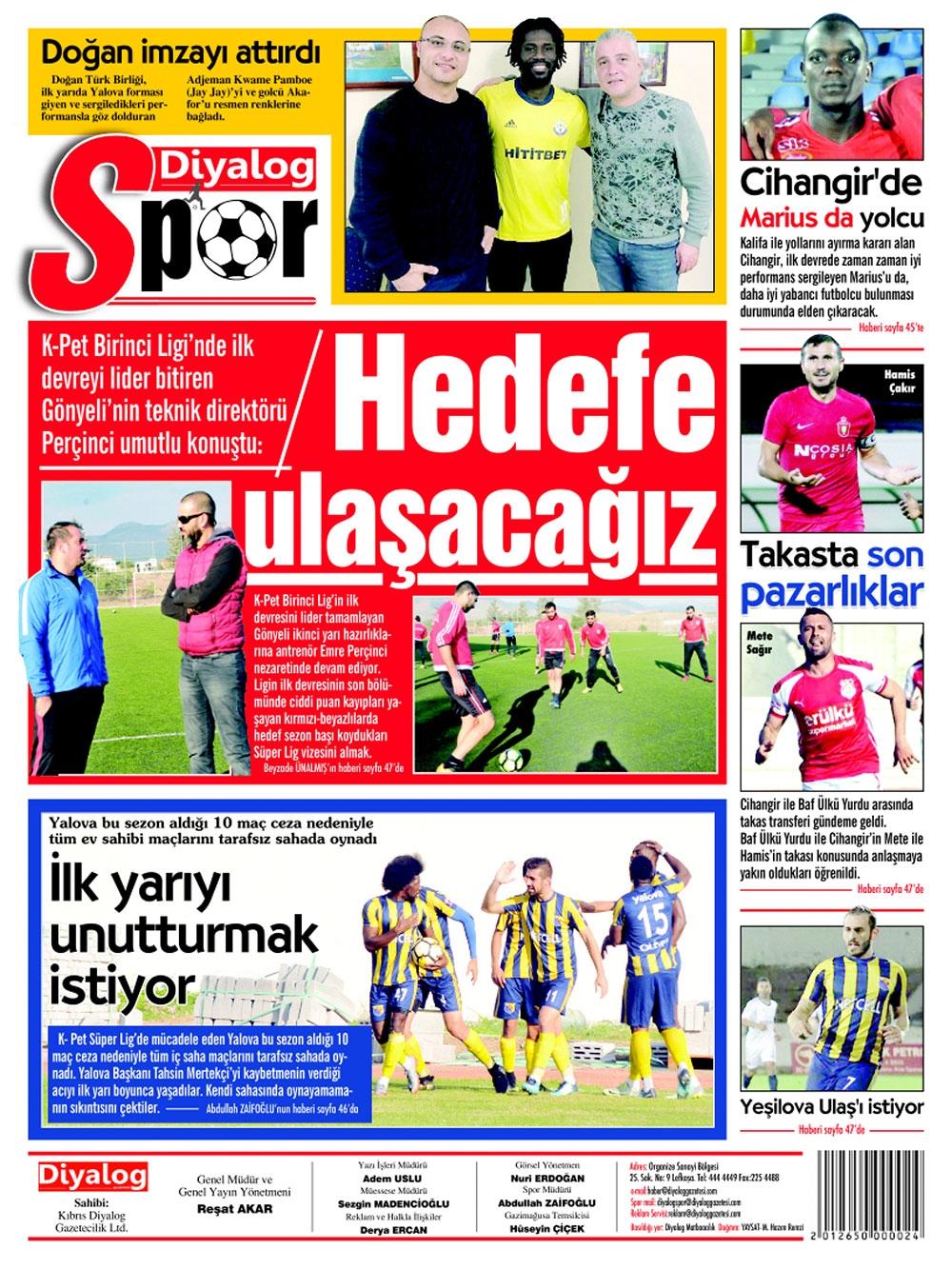 Spor basınında bugün... (8 Ocak 2018) galerisi resim 4