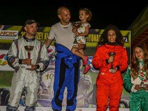 Kartingde ikinci yarış yapıldı