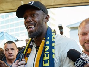 Bolt, futbol hayali için Avustralya'da