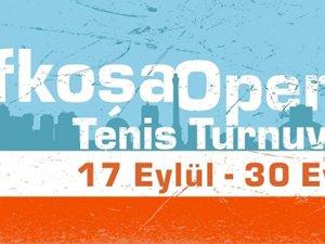 Lefkoşa Open 2018 başlıyor