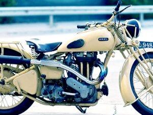 Klasik motosikletler sergilenecek