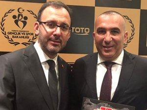 KKTOK'a 'En başarılı organizasyon' ödülü