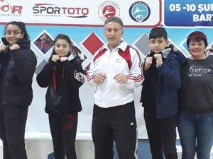 Kickboksta Türkiye'de üçüncülük
