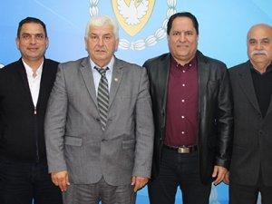 Kulüpler Birliği'nden Spor Dairesi'ne ziyaret