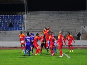Olaylı maç Çetinkaya'nın: 1-0