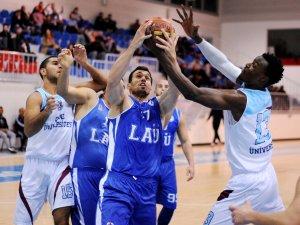 Müthiş maçta zafer LAÜ'nün: 80-83