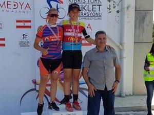 Dağ bisikletinde yılın ilk yarışı yapıldı