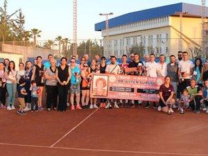 Teniste Dr. Ayten Sururi Turnuvası tamamlandı