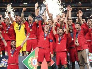 Uluslar Ligi şampiyonu Portekiz