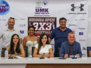"""""""Nicosia Open 3x3 Basketball"""" turnuvası tanıtıldı"""