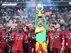 Avrupa'nın süperi Liverpool