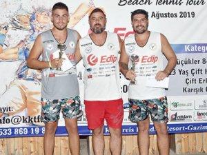Plajda birincilik mücadelesi