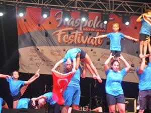 Lefkoşa cimnastikçileri, Haspolat'a renk kattı