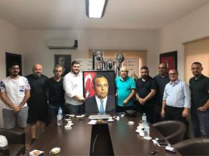Mehmet Küçük'ten Yenicami'ye ziyaret