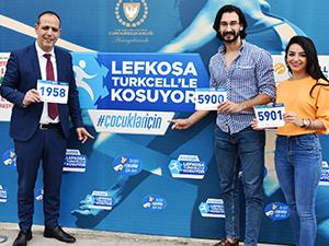 Yiğitcan'dan maratona destek