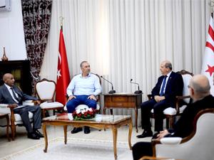 Sertoğlu ve BTM temsilcileri, Tatar ile görüştü