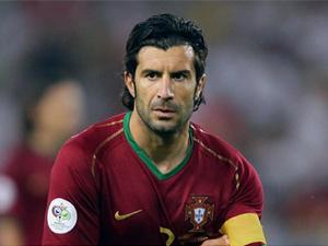 Bir Portekiz efsanesi Luis Figo...