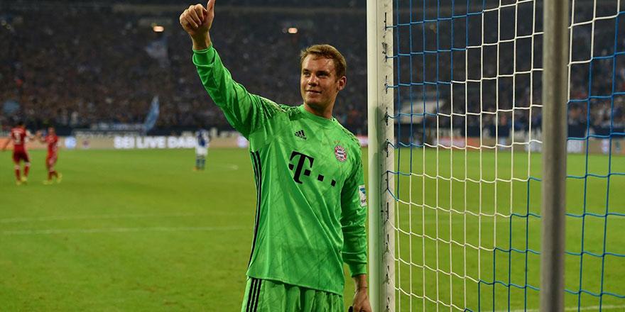 Neuer yine ilk sırada