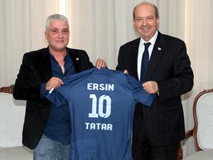 Doğan Türk Birliği'nden Tatar'a ziyaret