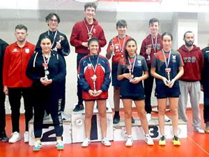 Gençler, ferdi turnuvada mücadele etti