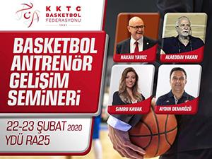 Basketbol antrenörleri için kapsamlı seminer