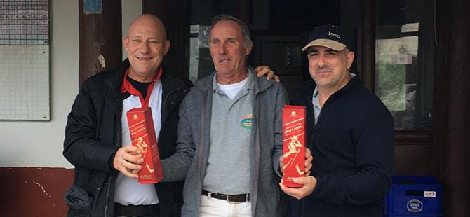 Greensome şampiyonu Portakalcıoğlu - Özen çifti