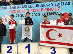Türkiye'de üç bronz madalya