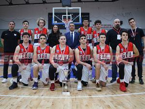 Lise basketbolda şampiyonlar belirlendi