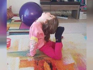 """Sapsızoğlu: """"Evde cimnastik yapan çocukları kutlarım"""""""