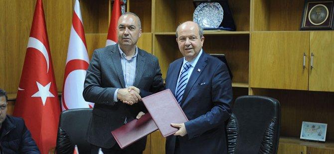 Başbakan Tatar sporun geleceği ile ilgili konuştu