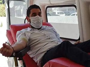 Kan bağışı yaptılar