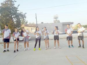 Çocuklara badminton sporu tanıtıldı