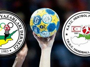 Hentbol KTSYD Kupası'nda hakemlerden örnek hareket