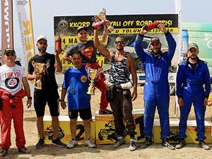 Off Road Yarışı'na Kıbrıslı Rumlar damga vurdu