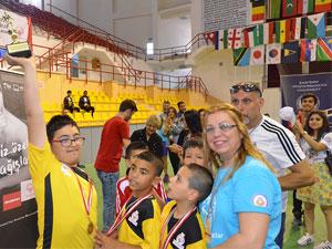 Özel Olimpiyatlar DAÜ'de yapıldı