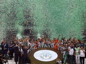 Sezonun en büyüğü Konyaspor