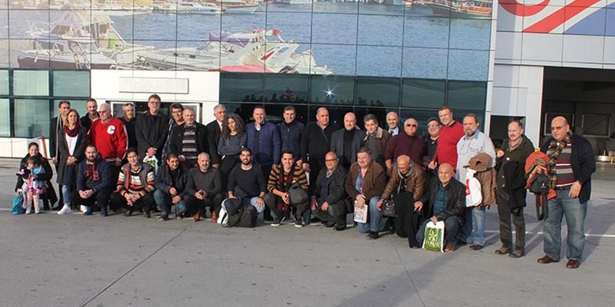 Spor Yazarları Antalya'da
