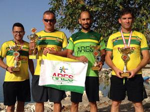 Ares'ten  Türkiye'de şampiyonluk