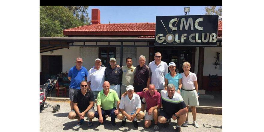 Cengiz Topel Golf Turnuvası oynanıyor