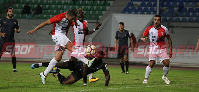 Ozanköy, Lefkoşa'da güldü:1-2