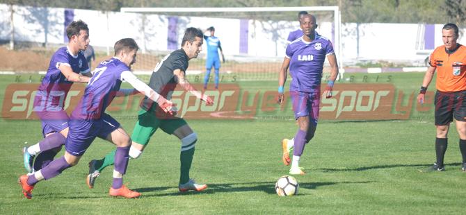 Karadağ'da Lefke farkla turladı: 5-2