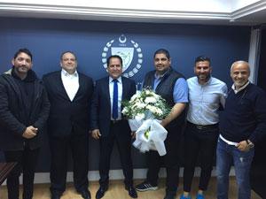 Atletizm Federasyonu'ndan Değirmencioğlu'na ziyaret