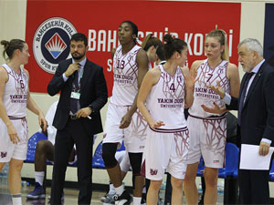 YDÜ Adana ASKİ'ye konuk oluyor