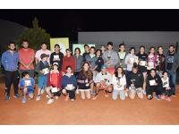 Gençler puanlı turnuvada mücadele etti