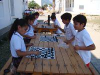 Küçükler Satranç Şöleni'nde eğlendi
