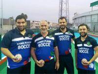 Erkekler Bocce Ligi'nde heyecan başladı